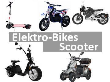Elektro-Bikes / Scooter